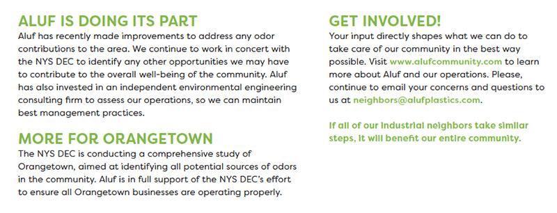 Aluf Community Update
